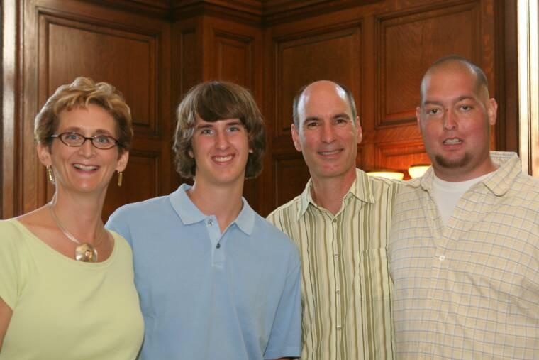 Roberta, Jake, Paul and Zach